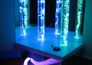 Sensory lights Padded podium