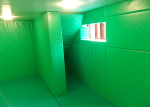 Fully padded room