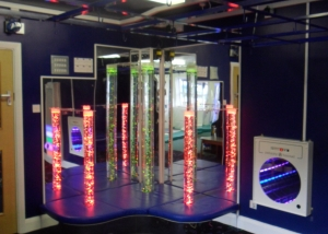 Sensory Room Curved Podium