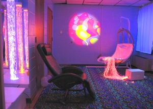 UV Carpet Sensory Room