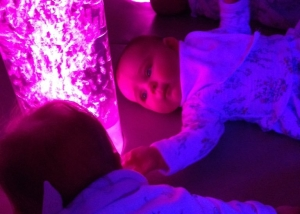 Babies and Seniors love a Sensory Room. Long Term Care is a challenge to anyone, TFH provides the Sensory Breaks!